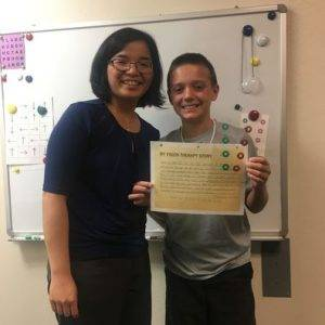 boy-graduating-from-vision-therapy-Modesto-ca